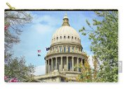 Idaho State Capitol In The Spring Carry-all Pouch