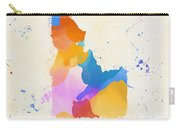 Idaho Watercolor Map Carry-all Pouch