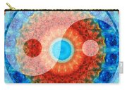 Ideal Balance Yin And Yang By Sharon Cummings Carry-all Pouch