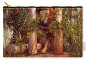 Idyll Pan Amidst Columns 1875 Carry-all Pouch