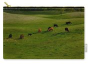 Idyllic Cows In The Hills Carry-all Pouch