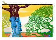 If A Tree Falls In Sicily Color 2 Carry-all Pouch