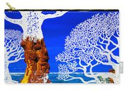 If A Tree Falls In Sicily White Carry-all Pouch