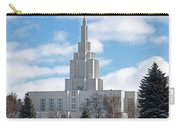 If Temple Against The Sky Carry-all Pouch