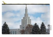 If Temple Dusted In Snow Carry-all Pouch
