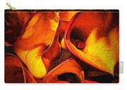If Van Gogh Painted Calla Lilies Carry-all Pouch