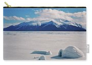 Igloo On Atlin Lake - Bc Carry-all Pouch