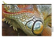 Iguana Full Of Color Carry-all Pouch