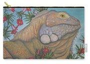 Iguana Iguana Carry-all Pouch
