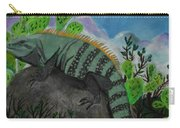 Iguana Rock Carry-all Pouch