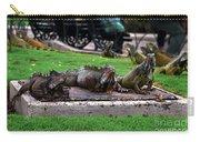 Iguana Trio Carry-all Pouch