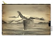Iguana With Wings Carry-all Pouch