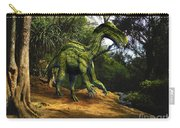 Iguanodon In The Jungle Carry-all Pouch