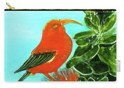 IIwi Scarlet Honeycreeper Bird #54 Carry-all Pouch