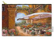 Il Mercato Sotto I Portici Carry-all Pouch by Guido Borelli
