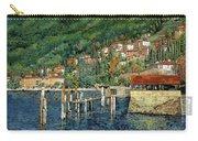 il porto di Bellano Carry-all Pouch by Guido Borelli