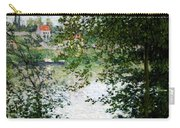 Ile De La Grande Jatte Through The Trees Carry-all Pouch