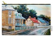 Ile D'orleans Quebec Street Scene Carry-all Pouch