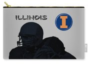 Illinois Football Carry-all Pouch
