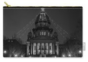 Illinois State Capitol B W Carry-all Pouch