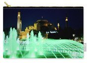 Illuminated Fountain Of Istanbul Carry-all Pouch