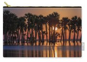 Illuminated Palm Trees Carry-all Pouch