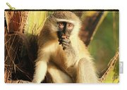 Illuminated Vervet Monkey  Carry-all Pouch