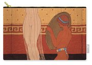 Illustration From Les Chansons De Bilitis Carry-all Pouch