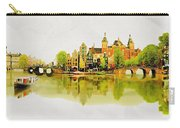 Illustration Of Amstradam In Watercolour Carry-all Pouch