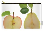 Illustration Of Apple And Pear Carry-all Pouch