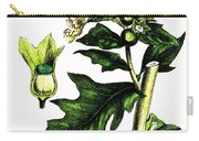 Illustration Of Black Henbane Carry-all Pouch