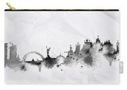 Illustration Of City Skyline - Kiev In Chinese Ink Carry-all Pouch