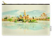 Illustration Of Moscow In Watercolour Carry-all Pouch