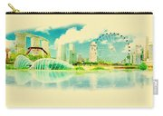 Illustration Of Singapore In Watercolour Carry-all Pouch