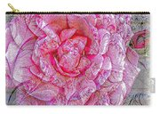 Illustration Rose Pink Carry-all Pouch