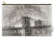 Im Selling The Brooklyn Bridge Or At Least A Photo Of It  Carry-all Pouch