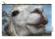 Smiling Lama Carry-all Pouch