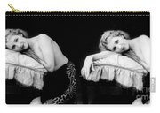 Im Too Tired, Nude Model, 1928 Carry-all Pouch