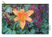 Image Included In Queen The Novel - Late Summer Blooming In Vermont 23of74 Enhanced Carry-all Pouch