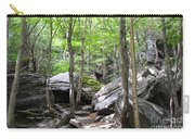 Image Included In Queen The Novel - Rocks At Smugglers Notch Carry-all Pouch
