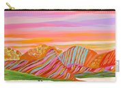 My Imagination Of China's Vast Rainbow Mountains Carry-all Pouch