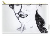 Imaginative Portrait Drawing  Carry-all Pouch