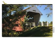 Imes Covered Bridge-winterset Carry-all Pouch