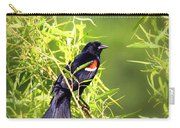 Img_0841-003 - Red-winged Blackbird Carry-all Pouch