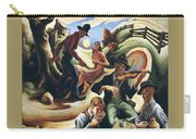 img611 Thomas Hart Benton Carry-all Pouch