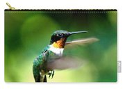 Img_9985-001 - Ruby-throated Hummingbird Carry-all Pouch