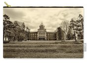 Immaculata University In Black And White Carry-all Pouch