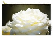 Immaculate Rose Carry-all Pouch