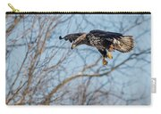 Immature Eagle Wheels Down Carry-all Pouch