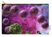 Immune Response Cytotoxic 4 Carry-all Pouch by Russell Kightley